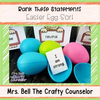Rank these Statements (How Do Our Students Really Feel?)  Easter Edition