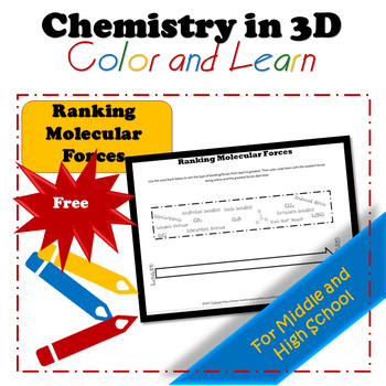 Ranking Molecular Forces Worksheet