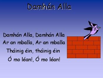 Rannta le Ranganna Naíonáin - Irish Language Rhymes for Infants