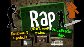 Rap: A comprehensive & engaging Music History PPT (links,