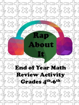 Rap About It- Math Review Activity