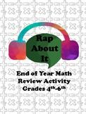 Rap About It- Math Review Activity