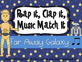 Rap It, Clap It, Music Match It: Far Away Galaxy Edition