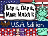 Rap It, Clap It, Music Match It U.S.A Edition