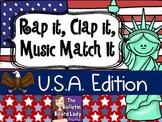 Rap It, Clap It, Music Match It U.S.A Edition