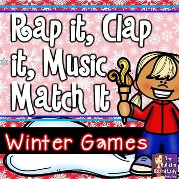 Rap It, Clap It, Music Match It:  Winter Games