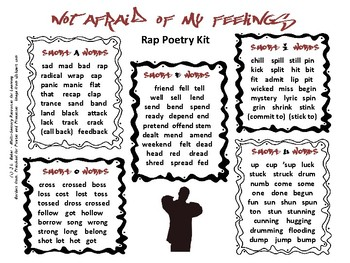 Rap Poetry Kit for Middle and Upper Primary