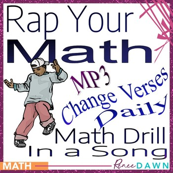 Math Facts - Math Drill in a Song MP3