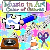 Music in Art -Color in Music- Beginning of the Year School-Wide Assembly Project