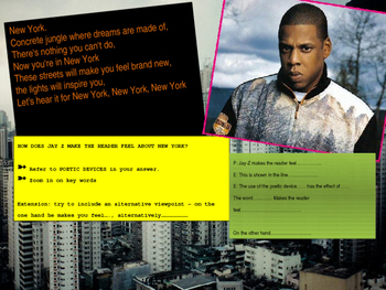 Rap as poetry - Jay-Z and Kanye