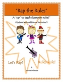 """Rap the Rules"": Additional Activities"