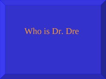 Rap/Hip Hop Music Jeopardy