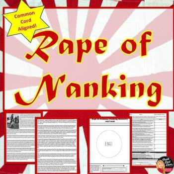 Rape of Nanking Readings and Worksheets