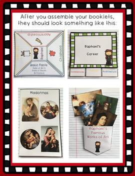 Raphael Interactive Foldable Booklets