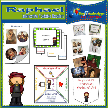 Raphael Interactive Foldable Booklets