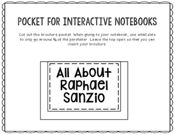 Raphael Sanzio - Famous Artist Biography Research Project, Interactive Notebook