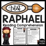 Raphael Biography Reading Comprehension, Renaissance, Art History, Pope