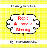 Rapid Automatic Naming Practice