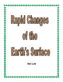 Rapid Changes of the Earth's Surface Booklet