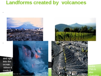 Rapid Changes to Earth's Surface-earthquakes, landslides, volcanoes