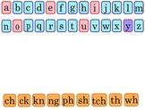 Rapid Exchange Phonics Letter Cards - Smart Notebook File