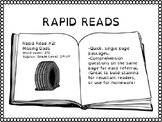 Rapid Reads #2 - Missing Dads - Passage and Questions