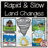 Rapid and Slow Land Changes