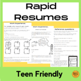 How to write a resume - easy resume planner for job readiness skills