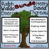 Raplh Waldo Emerson and Henry David Thoreau Bundle