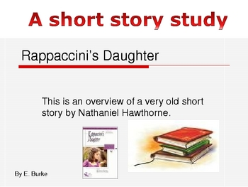 Rappaccini's Daughter-An Introduction