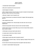 Rappaccini's Daughter - Guided Reading Questions