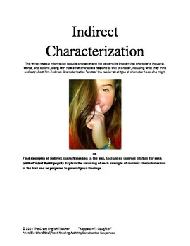 """""""Rappaccini's Daughter"""" :Printable Word Wall/Constructed Response/Co-operative"""