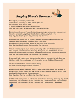Rapping Bloom' Taxonomy