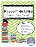 Rapport de Livre - French Book Report