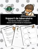 Rapport du laboratoire - microscope