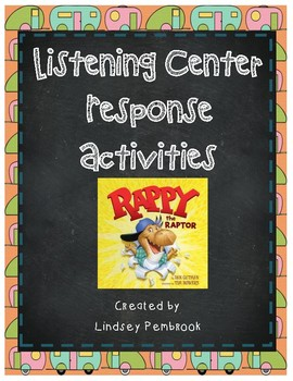Rappy The Raptor Listening Center Response for Dinosaur Units