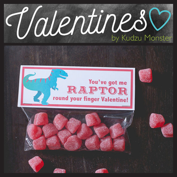 Raptor Valentine Topper