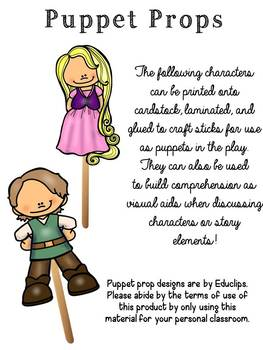 Rapunzel Readers Theater & Activities