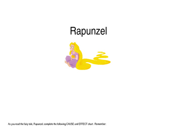 Rapunzel Cause and Effect Activity