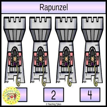 Rapunzel Clip Task Cards