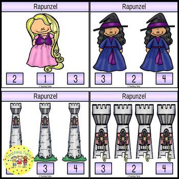 Rapunzel Task Cards