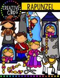 Rapunzel {Creative Clips Digital Clipart}