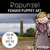 Rapunzel Fairy Tale Finger Puppet Retelling Set