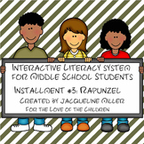 Test Prep and Interactive PowerPoint Bundle Installment #3: Rapunzel