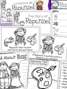 Rapunzel Math & Literacy Activities {Fairy Tales}