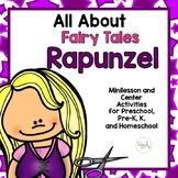Rapunzel Minilesson for Preschool, PreK, K, and Homeschool
