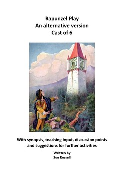 Rapunzel Play Cast of 6 alternative version