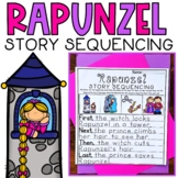 Story Retell and Sequencing Worksheets Rapunzel Fairytale Differentiated