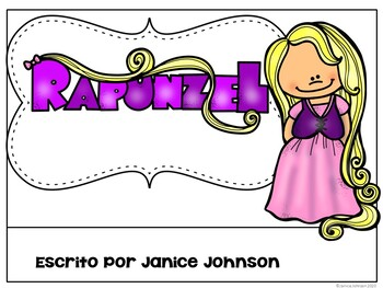 Rapunzel Spanish Reader ~ Simplified for Language Learners