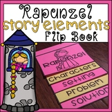 Rapunzel Story Elements Flip Book Differentiated